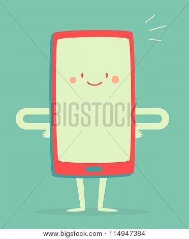 Happy Smartphone Smiling