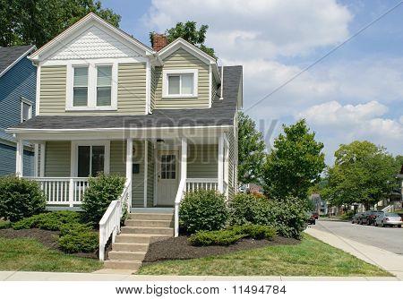 Haus an der Ecke