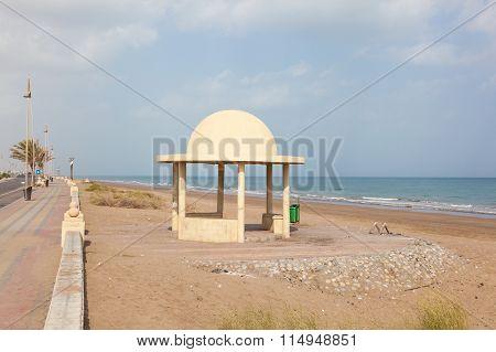 Beach In Seeb, Oman