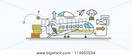 Concept of Freight Forwarding by Air