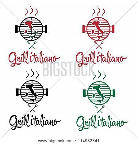 Italian Grill Set