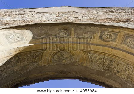 Arch Close-up In The Baths Of Diocletian