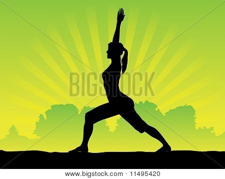 Yoga - Warrior Pose