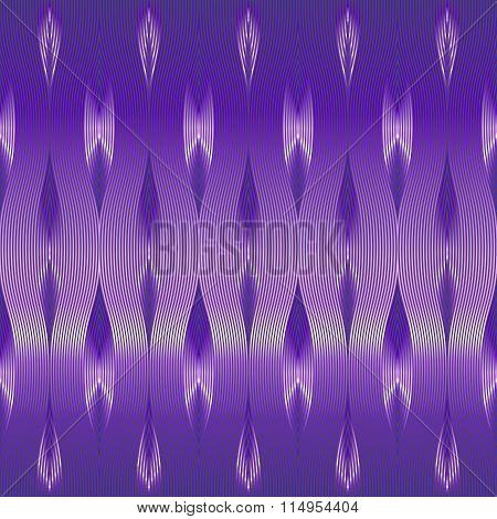 Fantasy vivid purple pattern