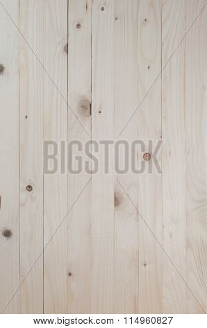 Wood Background, Pine Wood Background In Vertical Plane.