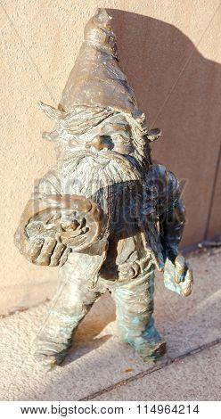 Wroclaw. Sculpture gnome.