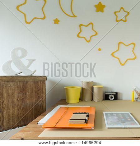 Study Room For Schoolchild