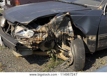 car, scrap