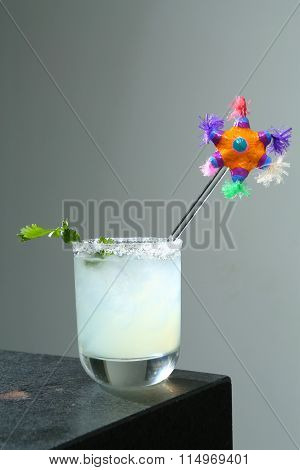 From The Bar: Margarita with fiesta (2)