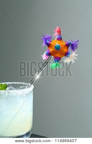 From the bar: Margarita with fiesta