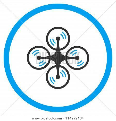 Quadcopter Screw Rotation Icon