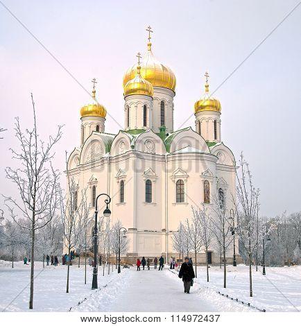 Tsarskoye Selo. Russia. The Church of St. Catherine Martyr