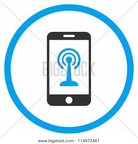 Radio Control Smartphone Icon