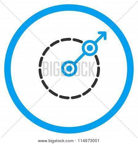 Round Area Exit Icon