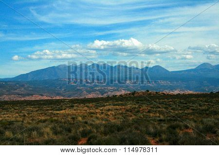 La Sal Mountains, Moab Utah