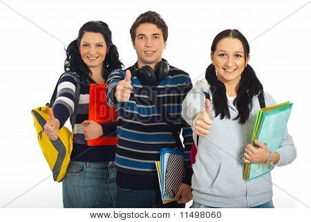 Successful Group Of Students