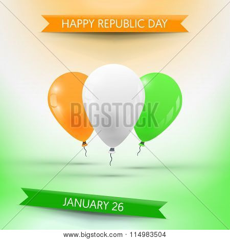 Republic day in India (January 26)