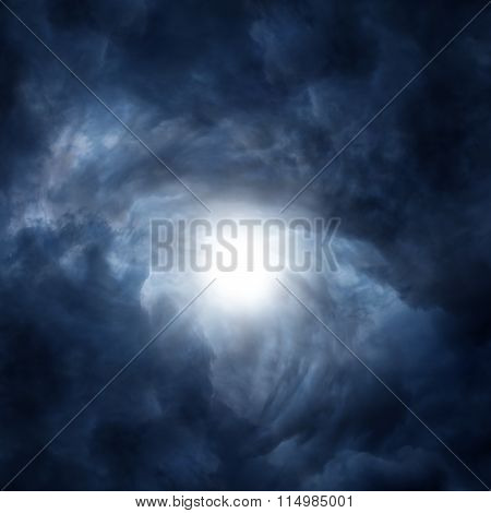 Dramatic Cloudscape Background