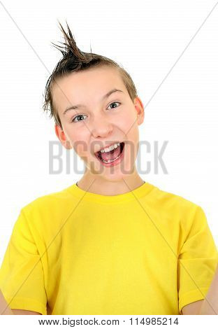 Cheerful Kid Portrait