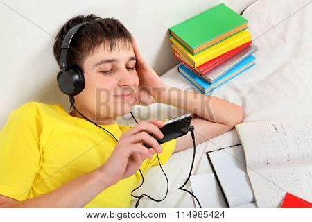 Teenager Listen To Music