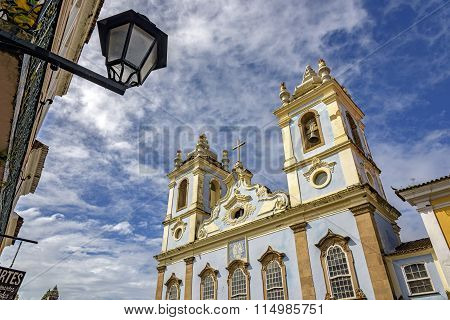 Brazilian old church