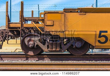 Cargo Railroad Car