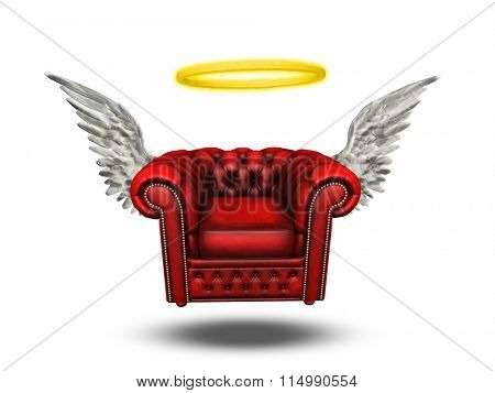 Comfort Chair with Halo and Wings