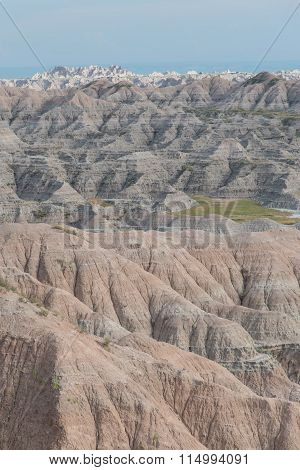 Badlands Geologic Formation