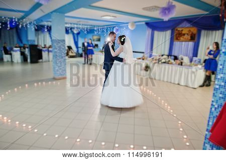 Wedding Dance On Candle Of Heart, Blured Effect