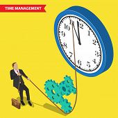 Постер, плакат: time management concept
