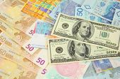 stock photo of ringgit  - World finance and foreign currency exchange concept  - JPG