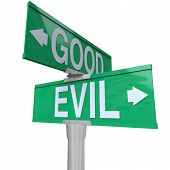 foto of good-vs-evil  - A green two - JPG