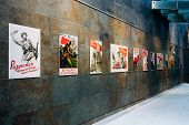 Soviet patriotic propaganda posters of World War II poster