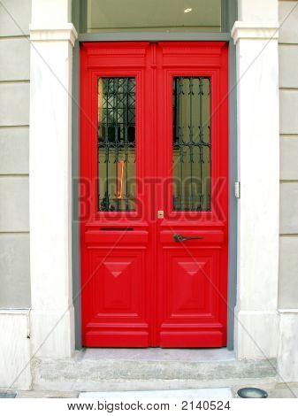 Red Door - Athens, Greece