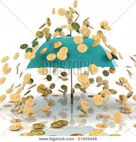 rain from chinks