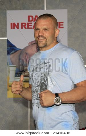 LOS ANGELES - OCT 24: Chuck Liddell at the world premiere of 'Dan In Real Life' at the El Capitan Theater in Hollywood, Los Angeles, California on October 24, 2007
