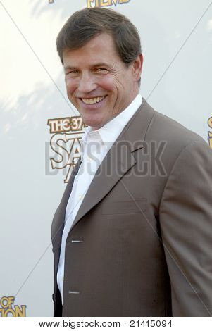 BURBANK, CA - JUNE 23: Michael Pare arrives at the 37th annual Saturn awards on June 23, 2011 at The Castaways restaurant in Burbank, CA