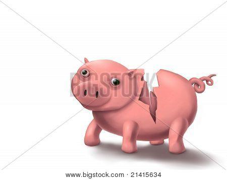 Piggy Broke