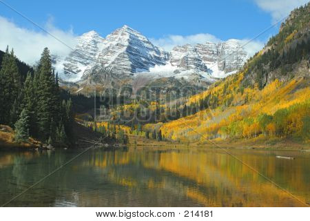 Maroon Bells, Autumn