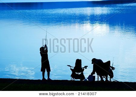 Fishing at Daybreak