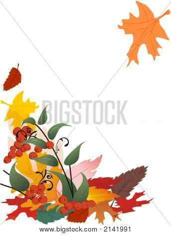Autumn Leaves - Vertical