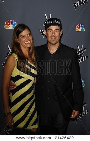 LOS ANGELES - JUN 29: Carson Daly; Siri Pinter at the 'The Voice' Live Finale After Party at the Avalon Hollywood on June 29, 2011 in Los Angeles, California