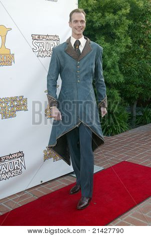 BURBANK, CA - JUNE 23: Doug Jones  arrives at the 37th annual Saturn awards on June 23, 2011 at The Castaways restaurant in Burbank, CA