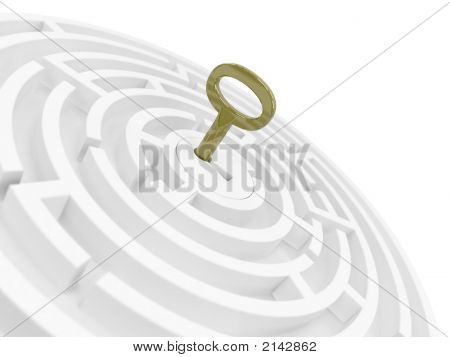 Key For Maze