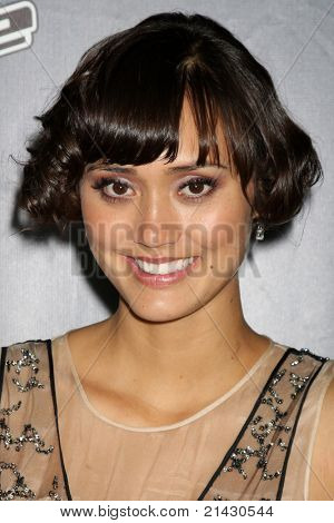 "LOS ANGELES - JUN 29:  Dia Frampton arriving at the Wrap Party for The ""Voice"" at Avalon on June 29, 2011 in Los Angeles, CA"