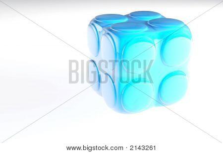 Blue Child'S Block