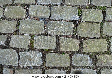 Passagem de pedra