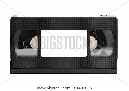 Old Video Tape (cassette), With Space For Text