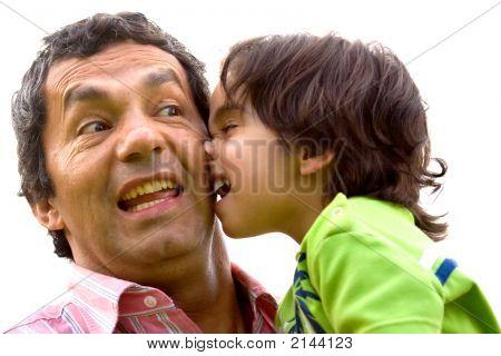 O pestinha e seu pai