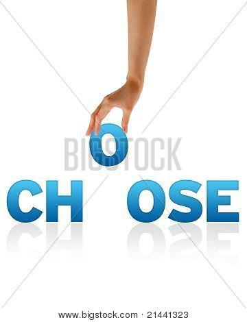 Hand Holding O
